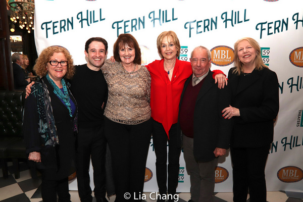 Nadia Tass, Producers Joey Monda and Mary J. Davis, Jill Eikenberry, Playwright Micha Photo