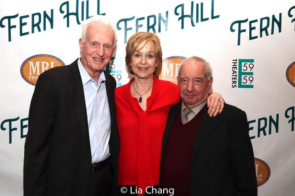 Tom Viertel, Jill Eikenberry and Playwright Michael Tucker Photo