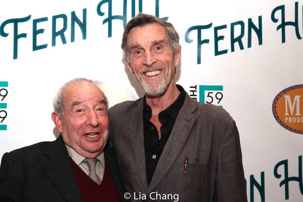 Playwright Michael Tucker and John Glover Photo