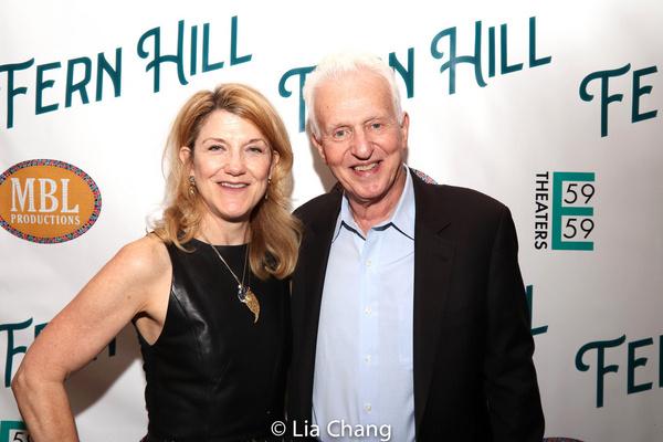 Victoria Clark and Tom Viertel Photo