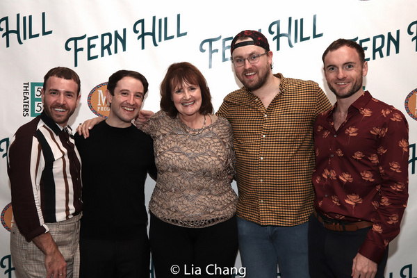 Jacob Schott, Joey Monda, Mary J. Davis, Frankie Dailey, Hamish Davies Photo