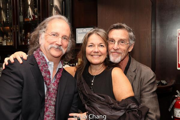 Mark Linn-Baker, Christa Justus, John Glover Photo