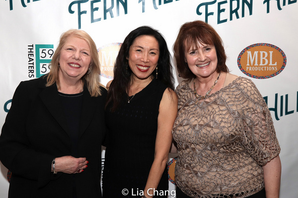 Judith Manocherian, Jodi Long and Mary J. Davis Photo