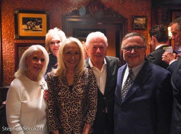 Jamie deRoy, Ginny Bond, Eda Sorokoff, Stephen Sorokoff, Richard Frankel, Feinstein's Photo