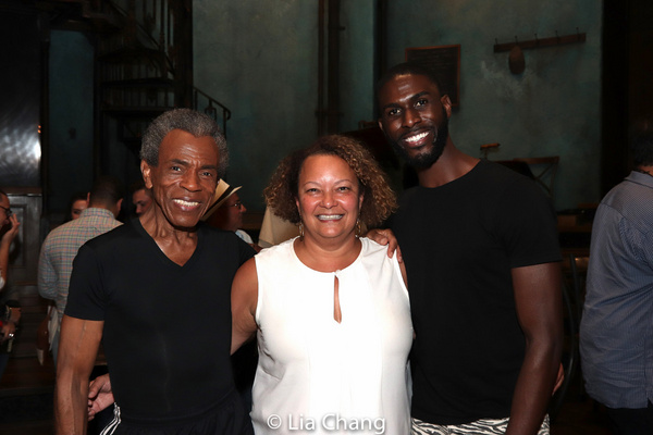 Andre De Shields, Lisa P. Jackson and Malcolm Armwood Photo