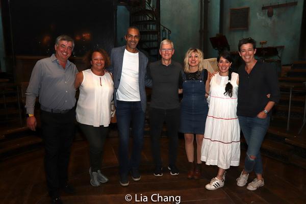 Lisa P. Jackson, Kenneth Jackson, Apple''s CEO Tim Cook, Anais Mitchell, Rachel Chavkin, Rachel Hauck