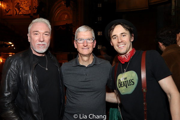 Patrick Page, Apple''s CEO Tim Cook and Reeve Carney