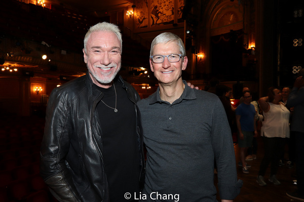 Patrick Page and Apple''s CEO Tim Cook