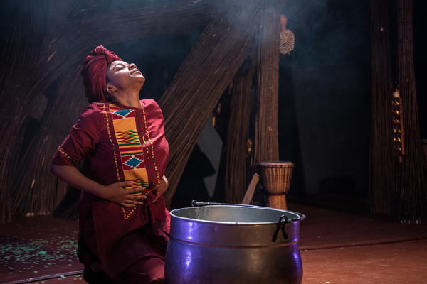 Photo Flash: First Look at the Unicorn's ANANSI THE SPIDER