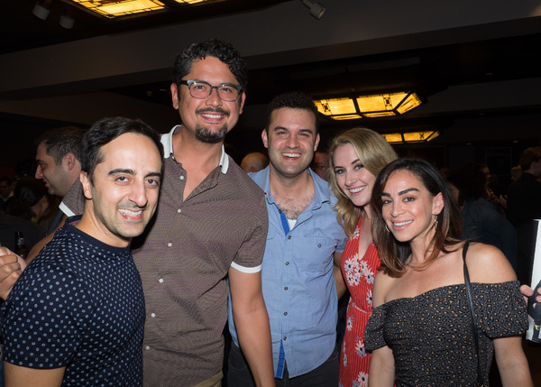 Amir Talai, Michael Cavinder, Travis Leland, Katie DeShan, and Marisa Duchowny Photo