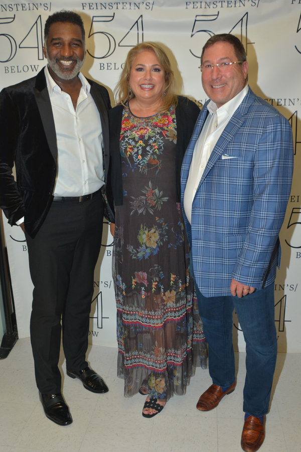 Norm Lewis with Gala Co Chairs-Andrea Reiser and David Reiser Photo