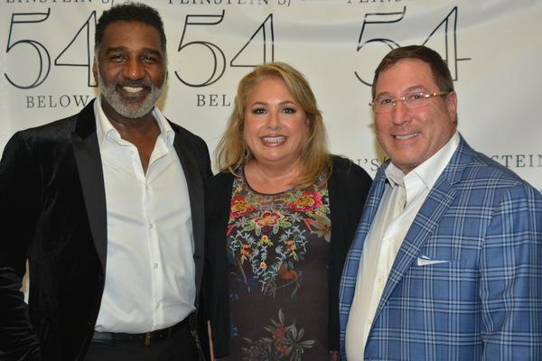 Norm Lewis, Andrea Reiser and David Reiser