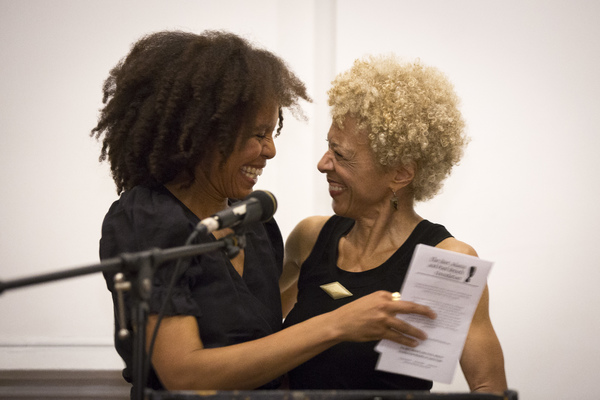 EISA DAVIS and MARGO JEFFERSON Photo