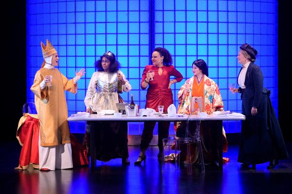 Rosie Hallett, Summer Brown, Michelle Beck, Monica Lin, Julia McNeal Photo