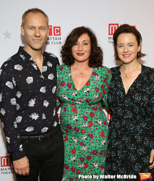 James Hillier, Lucy Cohu and Amanda Drew  Photo