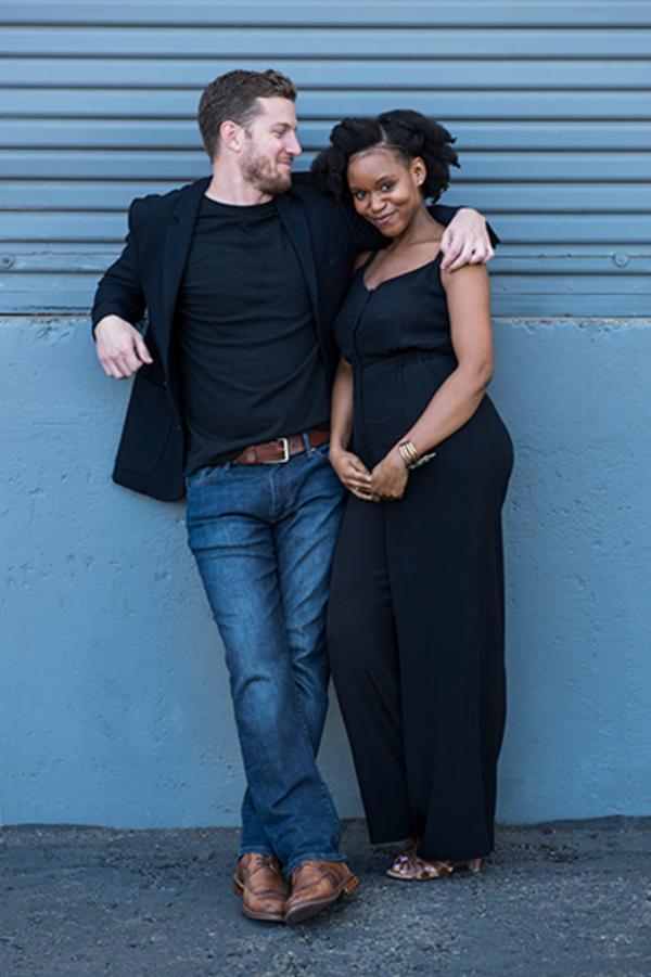 Nick Dillenburg (Ralph) and Aimé Donna Kelly (Misha) Photo