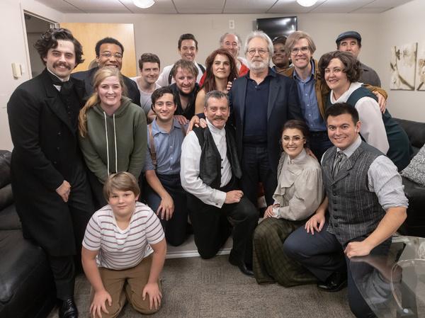 John Weidman with the cast of Assassins