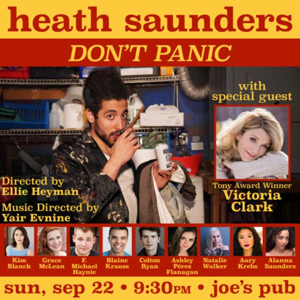Photo Coverage: Heath Saunders Brings DON'T PANIC to Joe's Pub