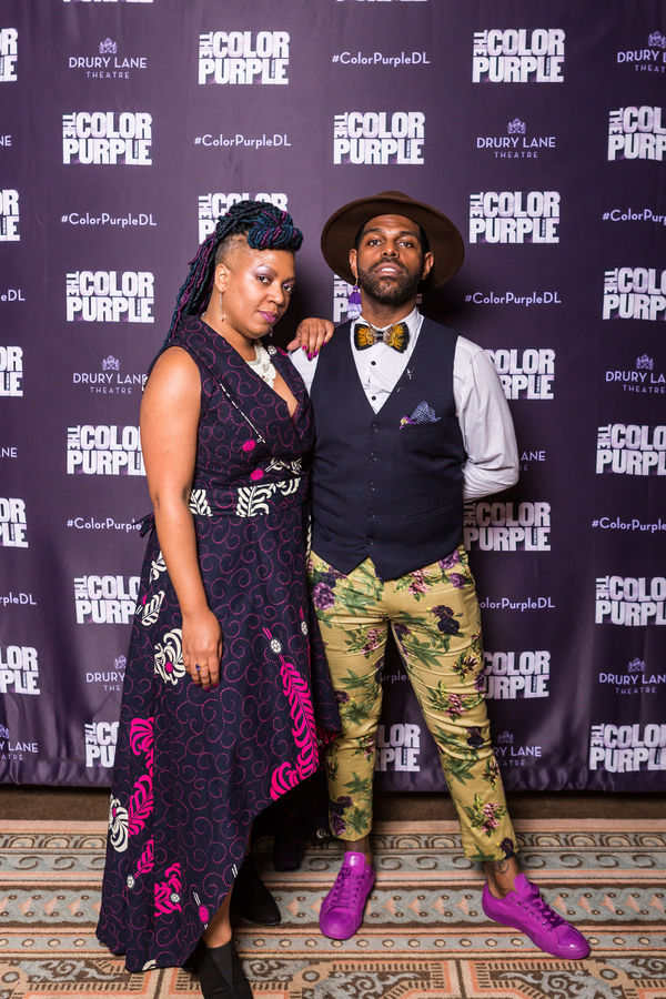 Director Lili-Anne Brown and Choreographer Breon Arzell Photo