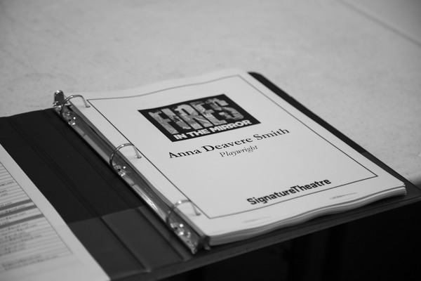 Photo Flash: In Rehearsal With FIRES IN THE MIRROR At Signature Theatre