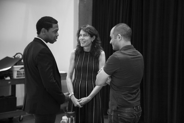 Michael Benjamin Washington, Paige Evans and Saheem Al Photo