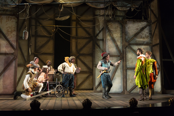 Photo Flash: Huntington Theatre Company Presents ROSENCRANTZ & GUILDENSTERN ARE DEAD