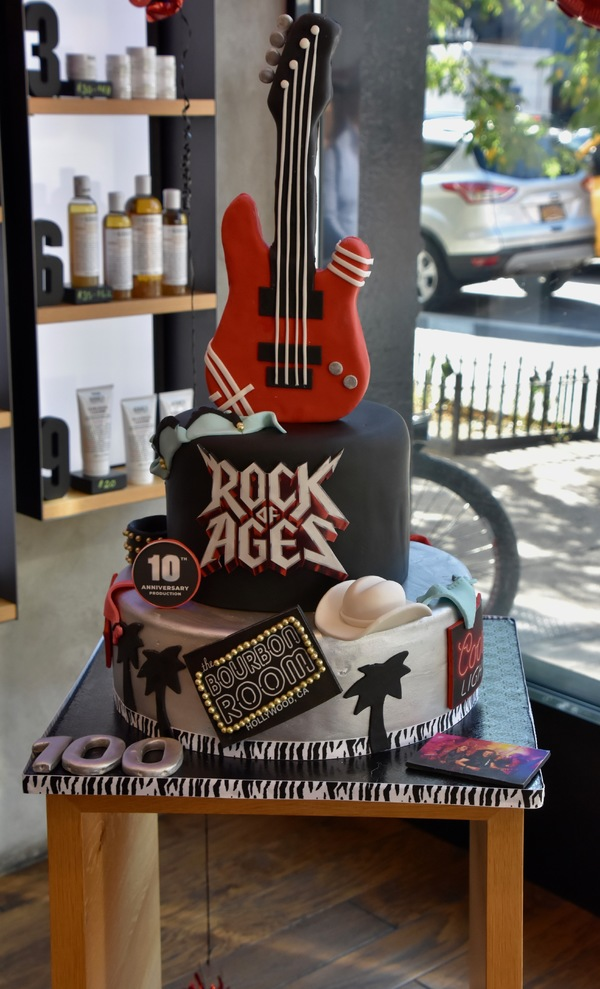 Photo Coverage: ROCK OF AGES Celebrates 100 Performances At New World Stages