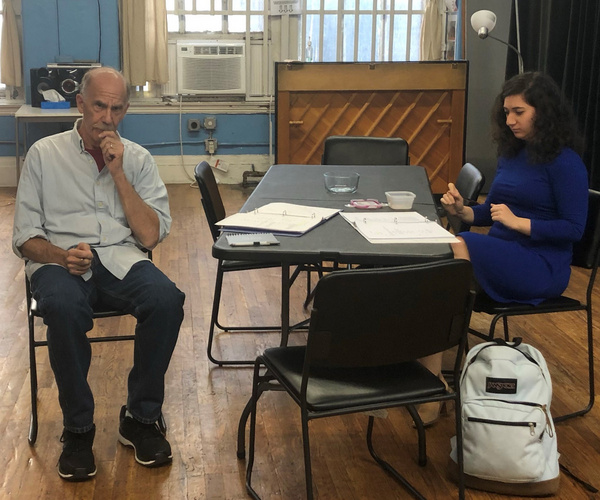 Photo Flash: Inside Rehearsal For APPLE, TABLE, PENNY at TADA Theater