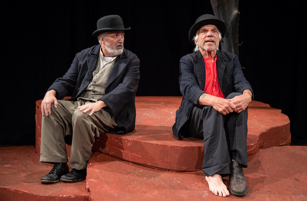 Tom Gleadow and Richard Donelly in WAITING FOR GODOT at The Wilbury Theatre Group in  Photo