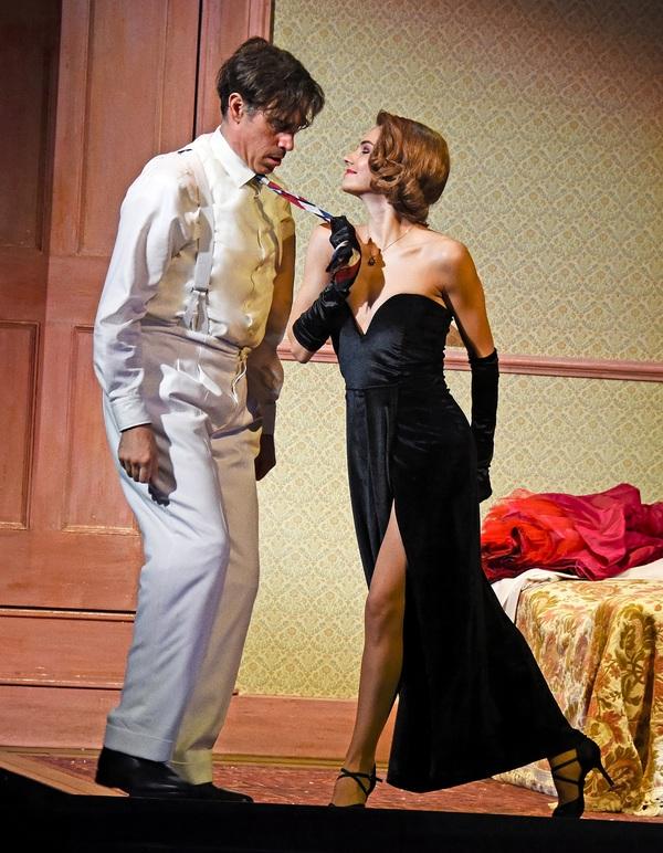 Stephen Mangan and Kara Tointon Photo