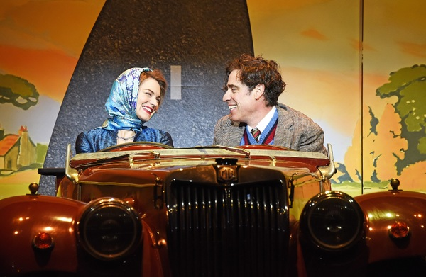 Kara Tointon and Stephen Mangan Photo