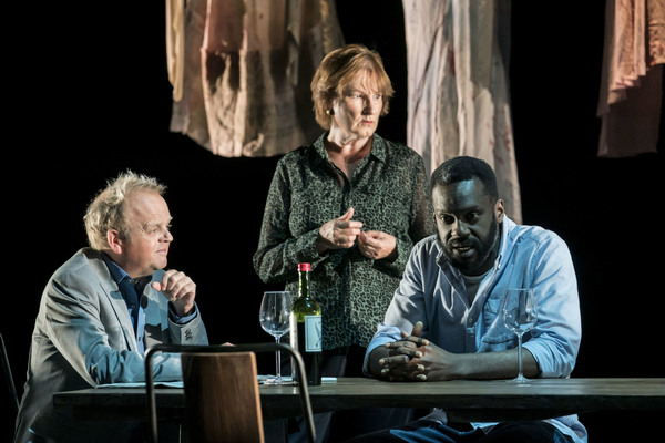 Toby Jones, Deborah Findlay, Sule Rimi  Photo