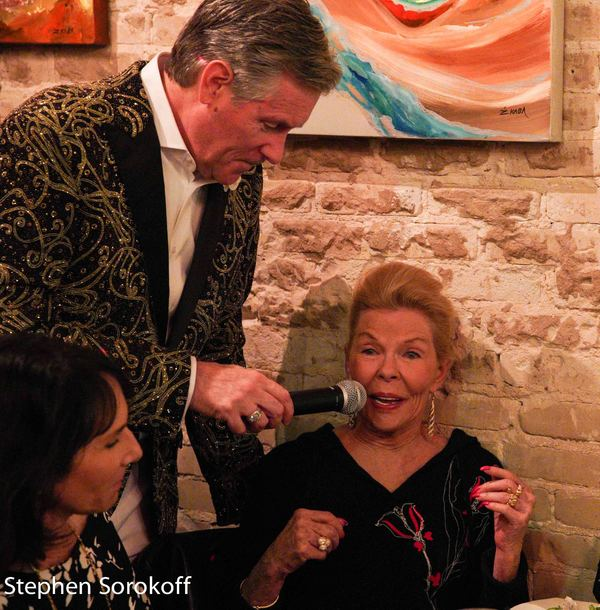 BWW Review/Photos: Avery Sommers and Angela Barcari Join Rob Russell For Cafe Centro Cabaret Opening
