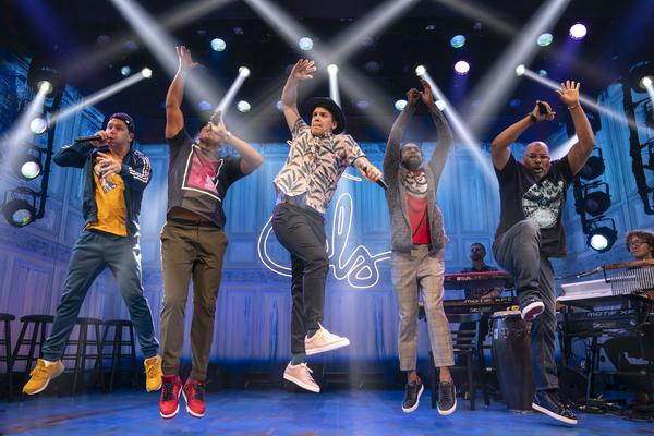 Chris Sullivan, Christopher Jackson, Anthony Veneziale, Utkarsh Ambudkar, James Monro Photo