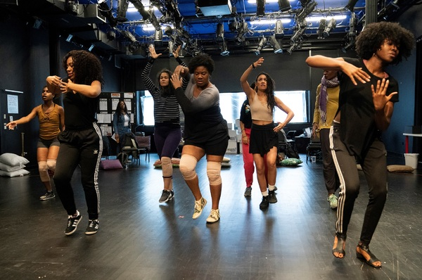 Photo Flash: First Look at FOR COLORED GIRLS WHO HAVE CONSIDERED SUICIDE/WHEN THE RAINBOW IS ENUF