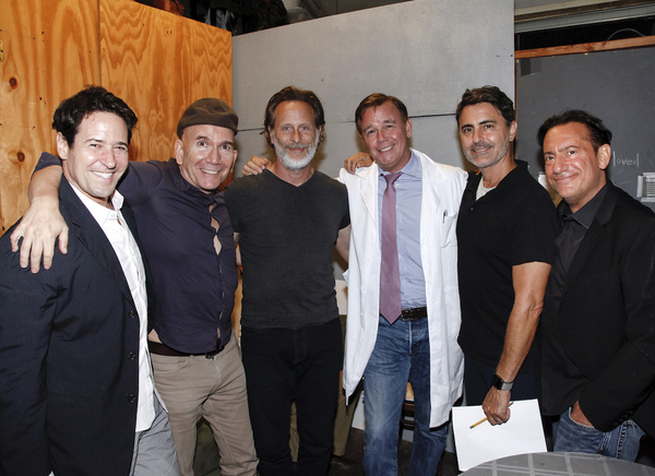 Rob Morrow, Jack Merrill, Steven Weber, Spencer Garrett, Bradley White, Eugene Pack. Photo