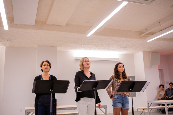 Judy Kuhn, Rebecca Luker, and Isabella McCalla Photo