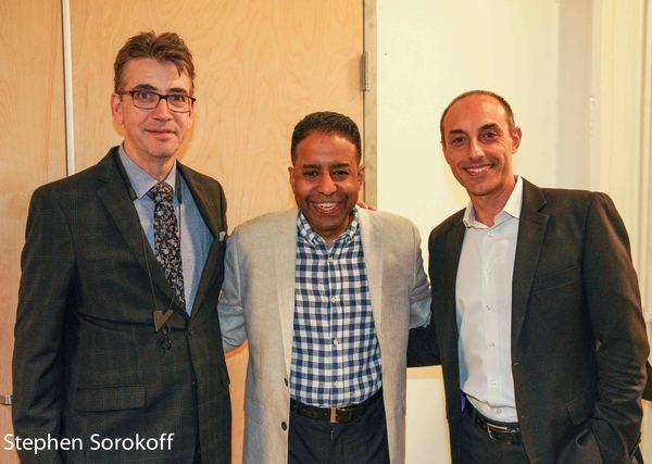 Mike Lee, Loston Harris, Gian Luca Renzi Photo