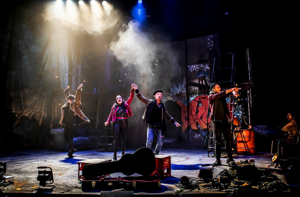 Photo Flash: First Look at the European Premiere Of BROOKLYN THE MUSICAL