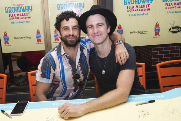 Brandon Uranowitz, Gavin Creel Photo