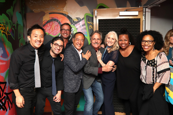 A CURVY WIDOW Reunion: Arei Sekiguchi, Andrew David Sotomayor, Mathew Shepard, Alan M Photo