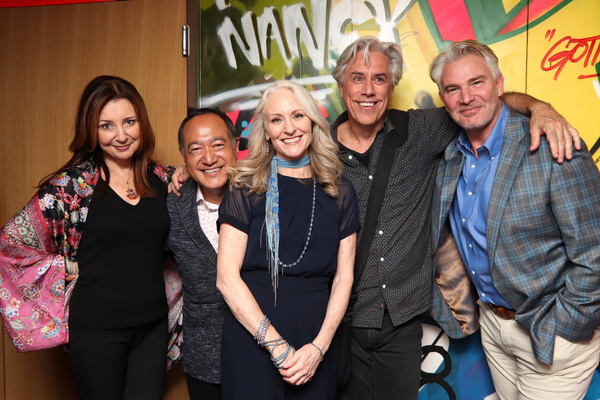 Donna Murphy, Alan Muraoka, Elizabeth Ward Land, Jeff McCarthy and Douglas Sills Photo