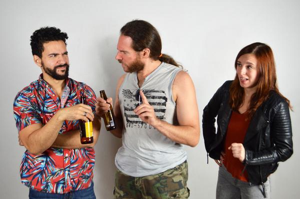 Anthony Irizzary, Dante Jayce and Samantha Simone Photo