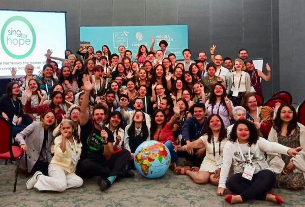 Photo Flash: World Summit Of Nobel Peace Laureates Announces Sing For Hope As Official Cultural Partner