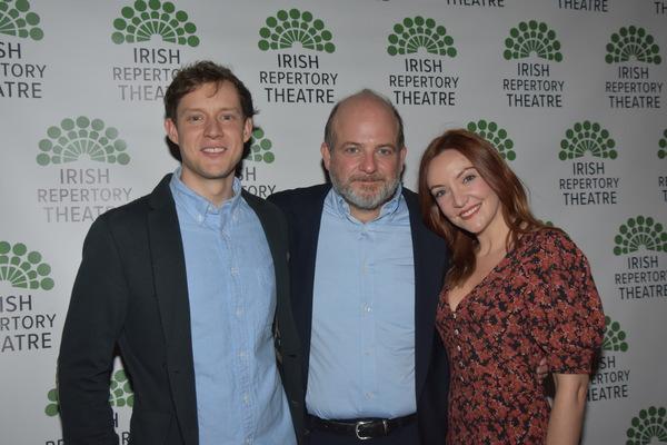 Cillian Hegarty, Jeffrey Bean and Sarah Street Photo