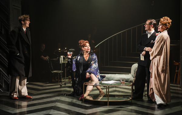 Chase Brown, Harriet Thorpe, Lewis Rae, Tracie Bennett