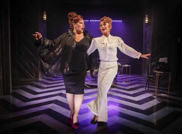 Harriet Thorpe and Tracie Bennett