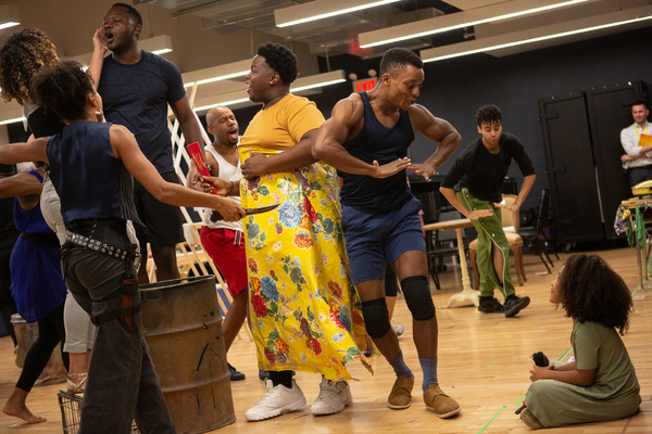Photo Coverage: Meet The Cast of The National Tour of ONCE ON THIS ISLAND