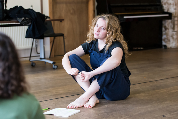 Photo Flash: Inside Rehearsal For MEET ME AT DAWN at Arcola