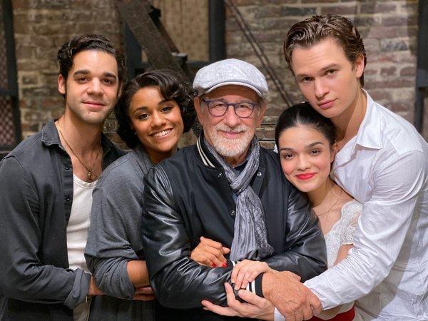 Photo Flash: WEST SIDE STORY Film Wraps Production!